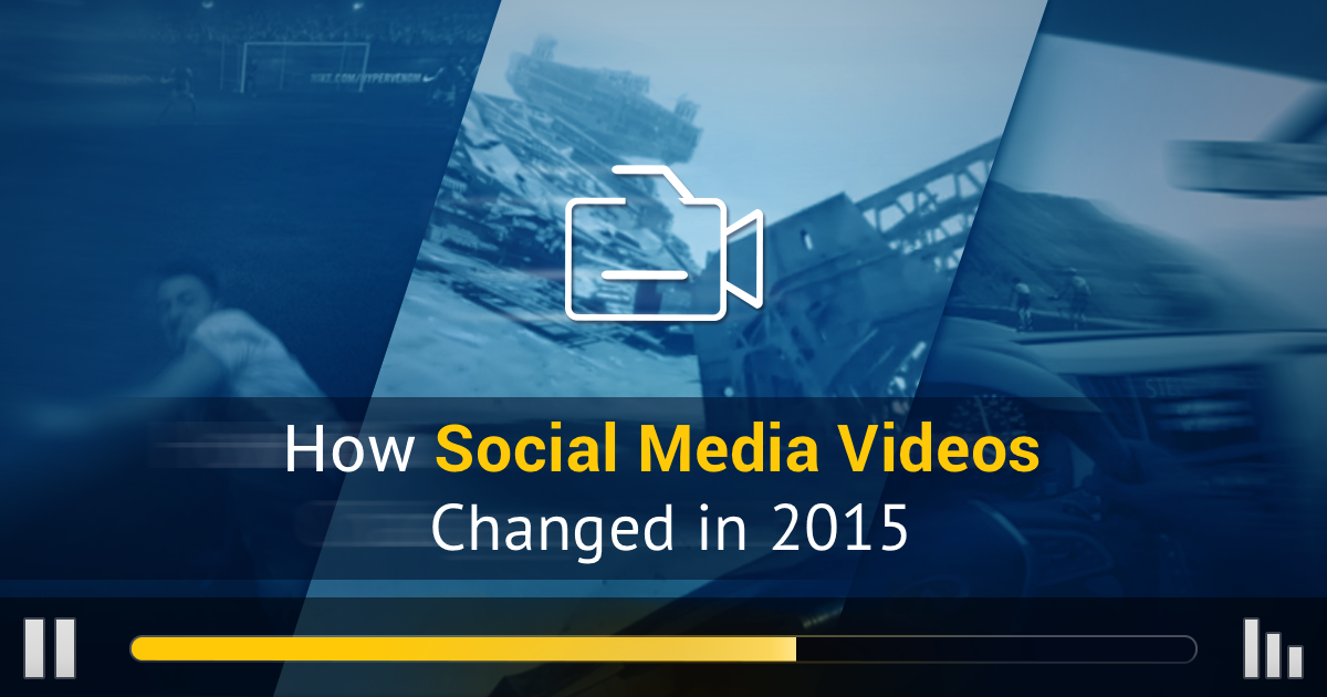 Three Trends That Dominated Social Video in 2015