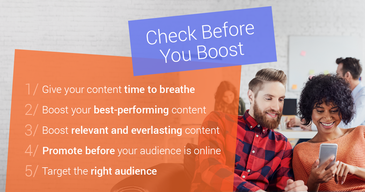 5 Tips to Boosting Facebook Content