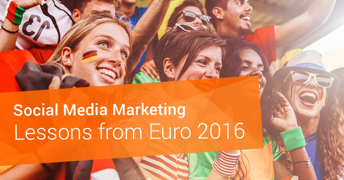 Social Media Marketing Lessons from Euro 2016