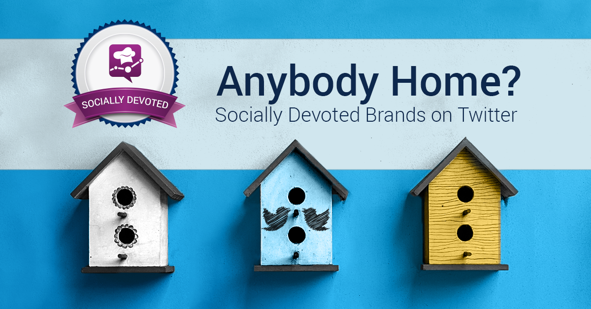 Socially Devoted Q2: Twitter Users Flock to Socially Devoted Brands