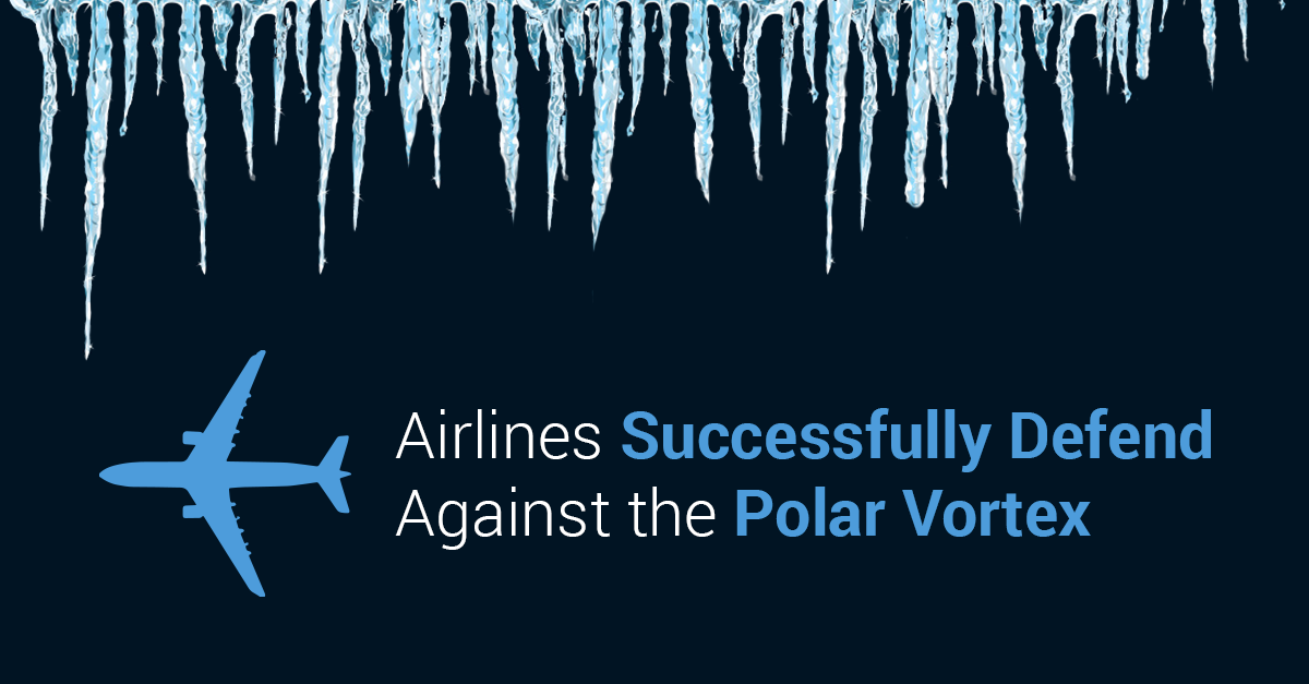 Airlines vs. the Polar Vortex: A Chilling Socially Devoted Study