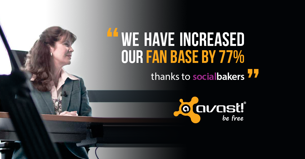 Avast Builds a Community of 3.4 Million Fans With Socialbakers