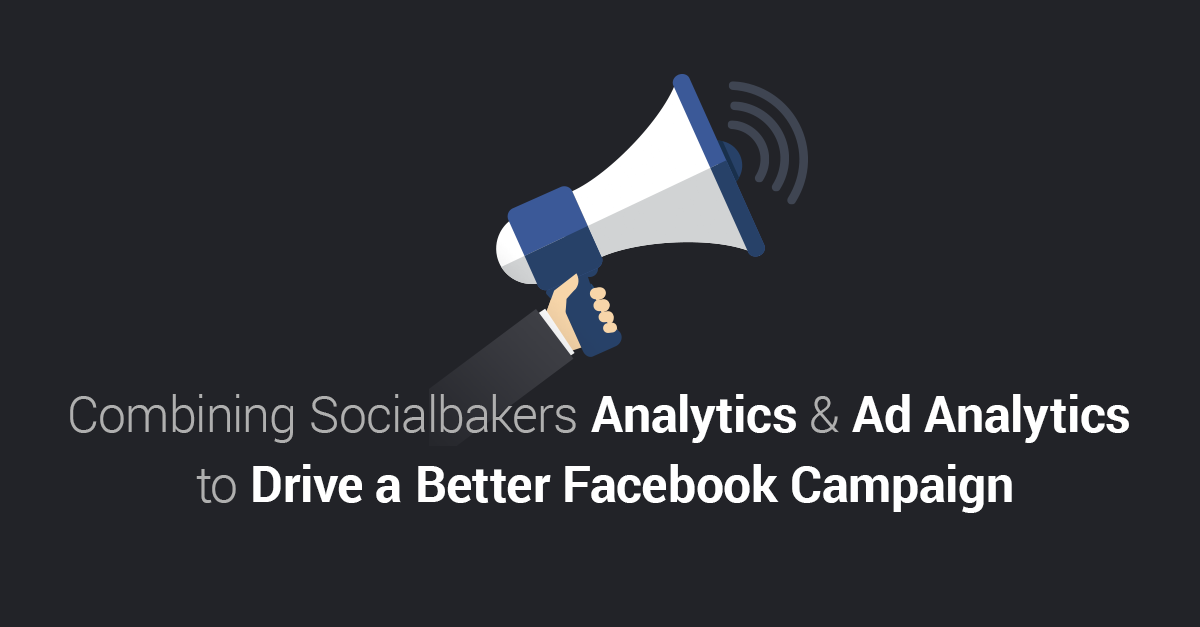 Combining Socialbakers Analytics and Ad Analytics to Drive A Better Facebook Campaign