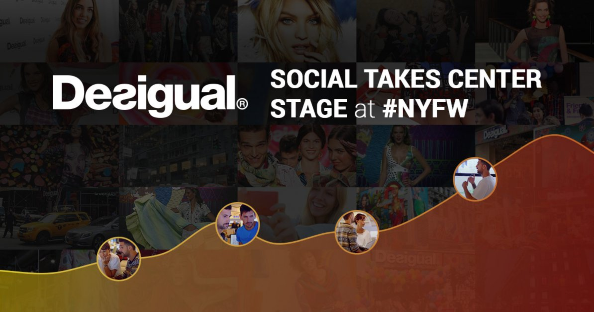 Check Out How Desigual Are Taking Their Fans to #NYFW on Social