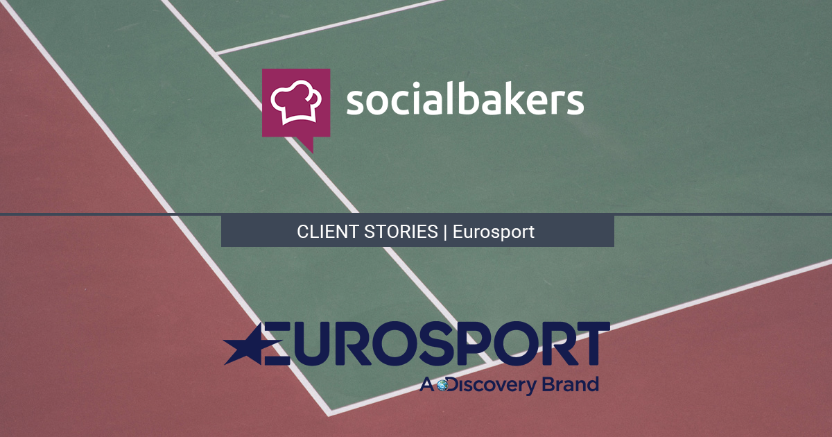 Eurosport: Productive Social Media Marketing with Socialbakers' All-In-One Solution