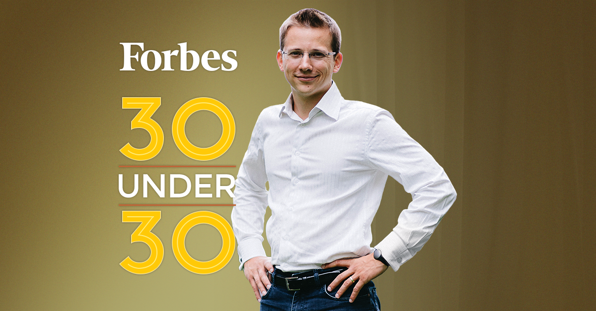 Socialbakers CEO Jan Rezab Featured in Forbes' 30 Under 30