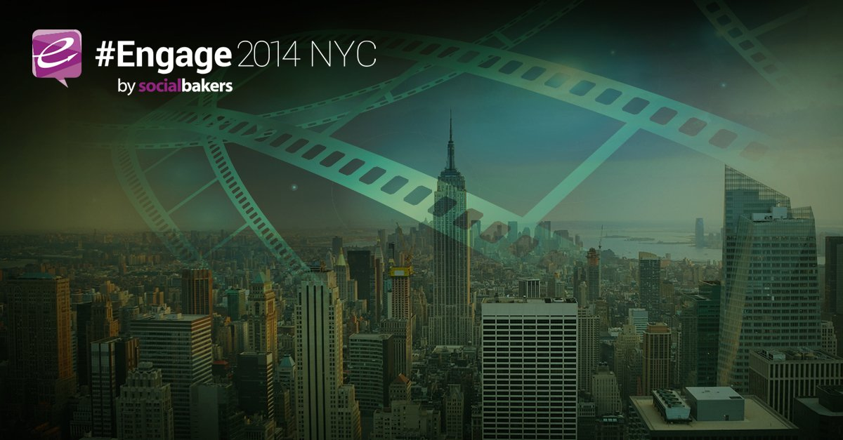 Can't make it to NYC? See Engage LIVE in cinemas in 7 cities!