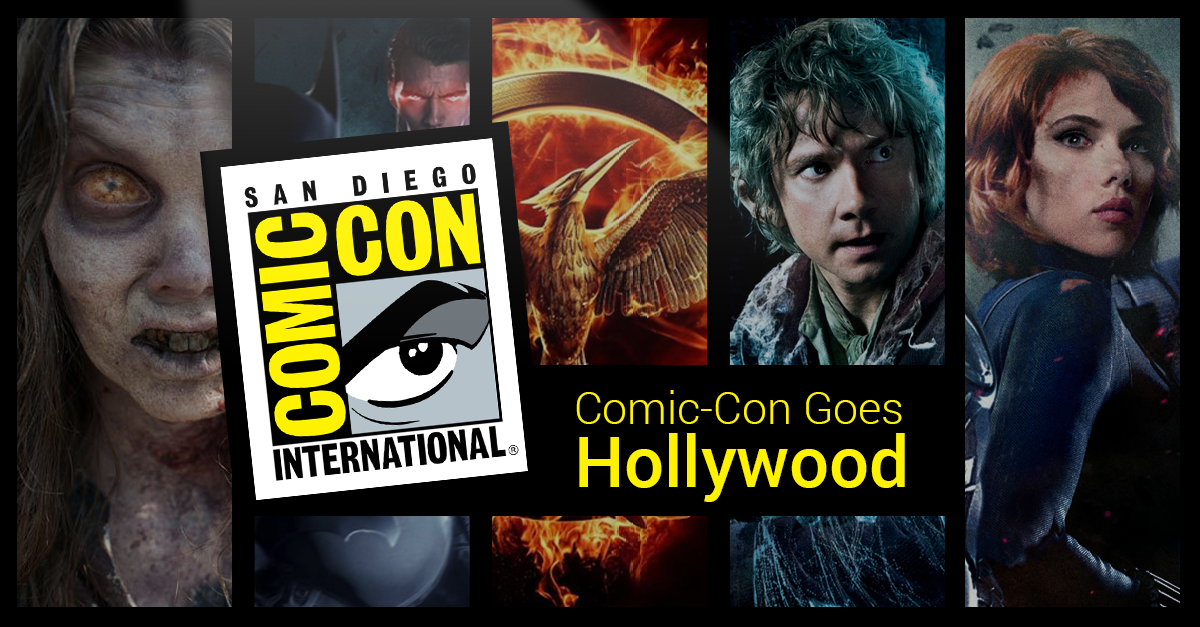 Geeks Gone Social: Comic-Con 2014