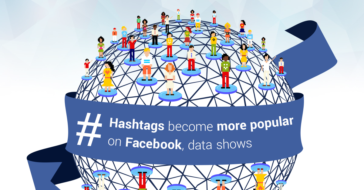 Hashtags Increasingly Popular on Facebook