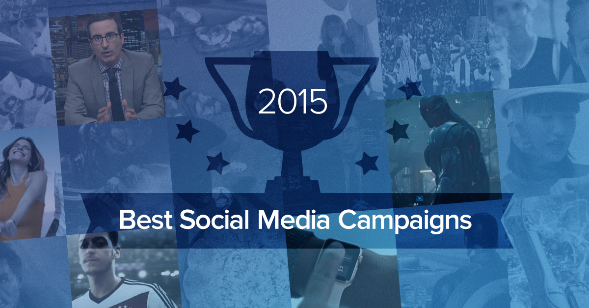 The Five Best Social Campaigns of the Year