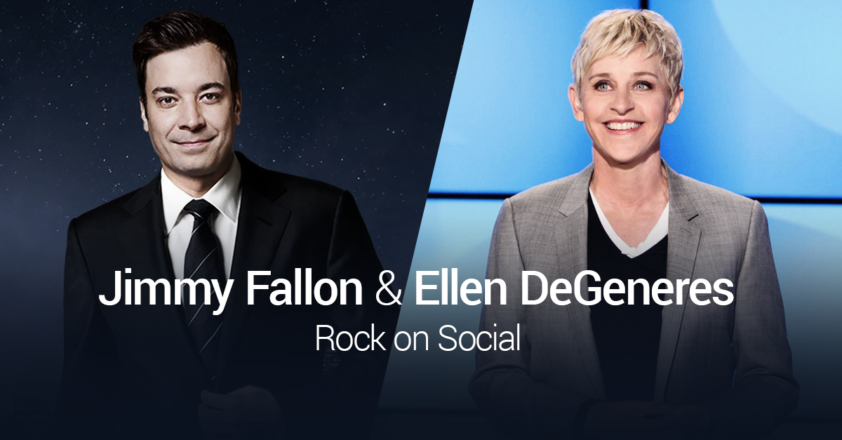 How Ellen & The Tonight Show Keep Fans Laughing on Social