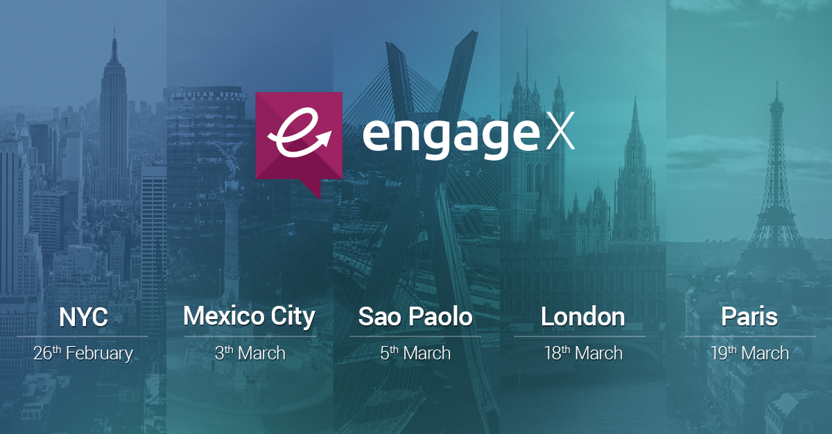 The Socialbakers EngageX World Tour is Coming