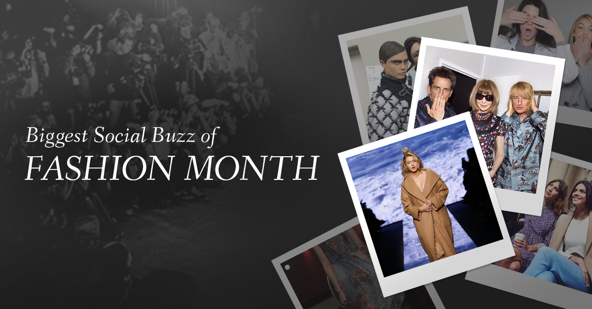 A Big Month for Fashion on Social