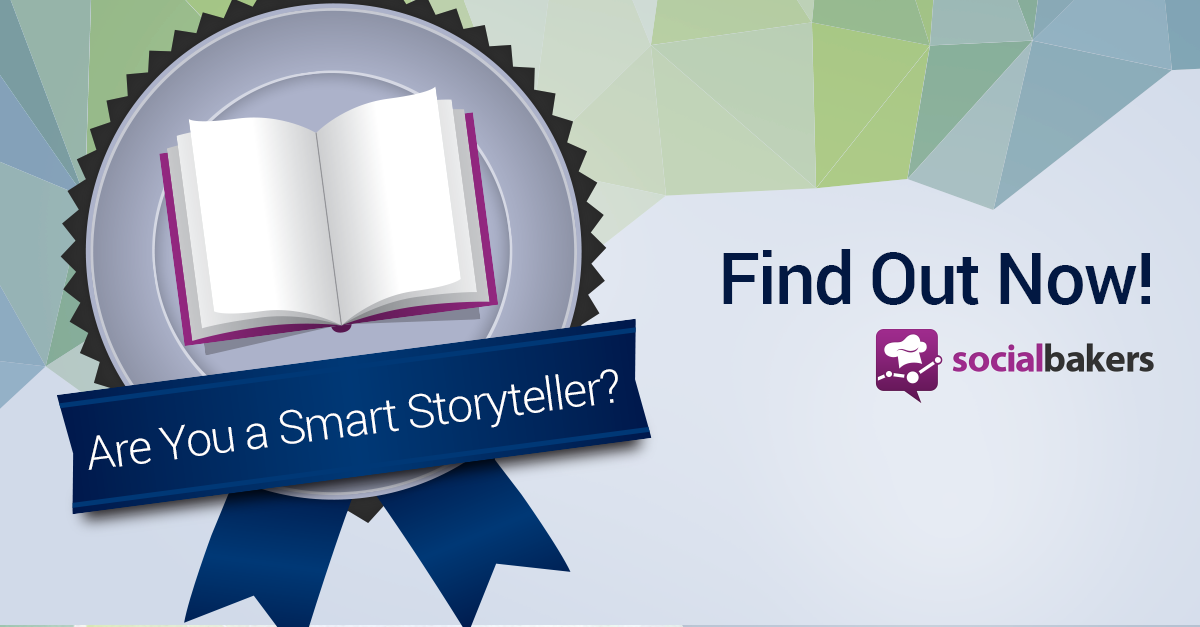 "Socialbakers Unveils a New Social Benchmark: ""Smart Storytellers"""