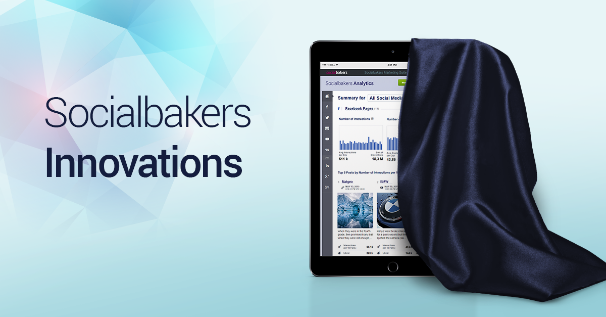 Some Big Announcements from Socialbakers