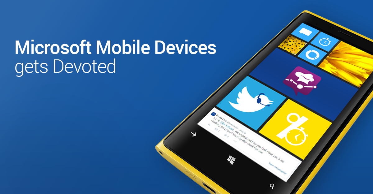 Sean Valderas of Microsoft Mobile Devices talks about becoming Socially Devoted