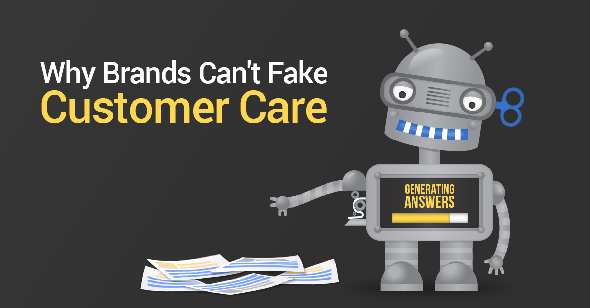 Why Brands Can't Fake Social Customer Service