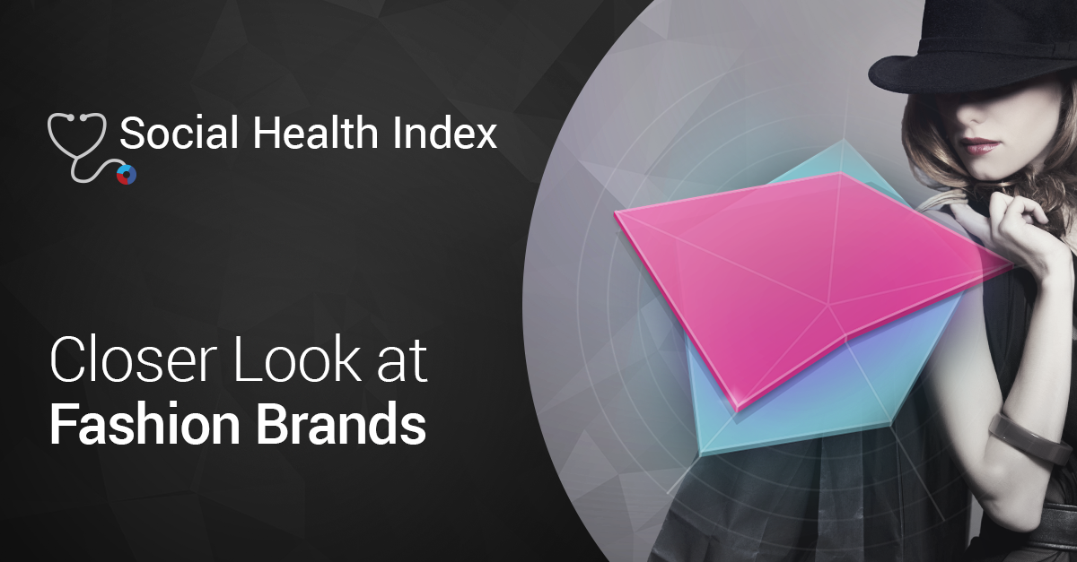 Measuring The Social Health of Top Fashion Brands