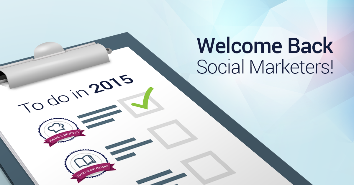 Three Social Marketing Resolutions for 2015