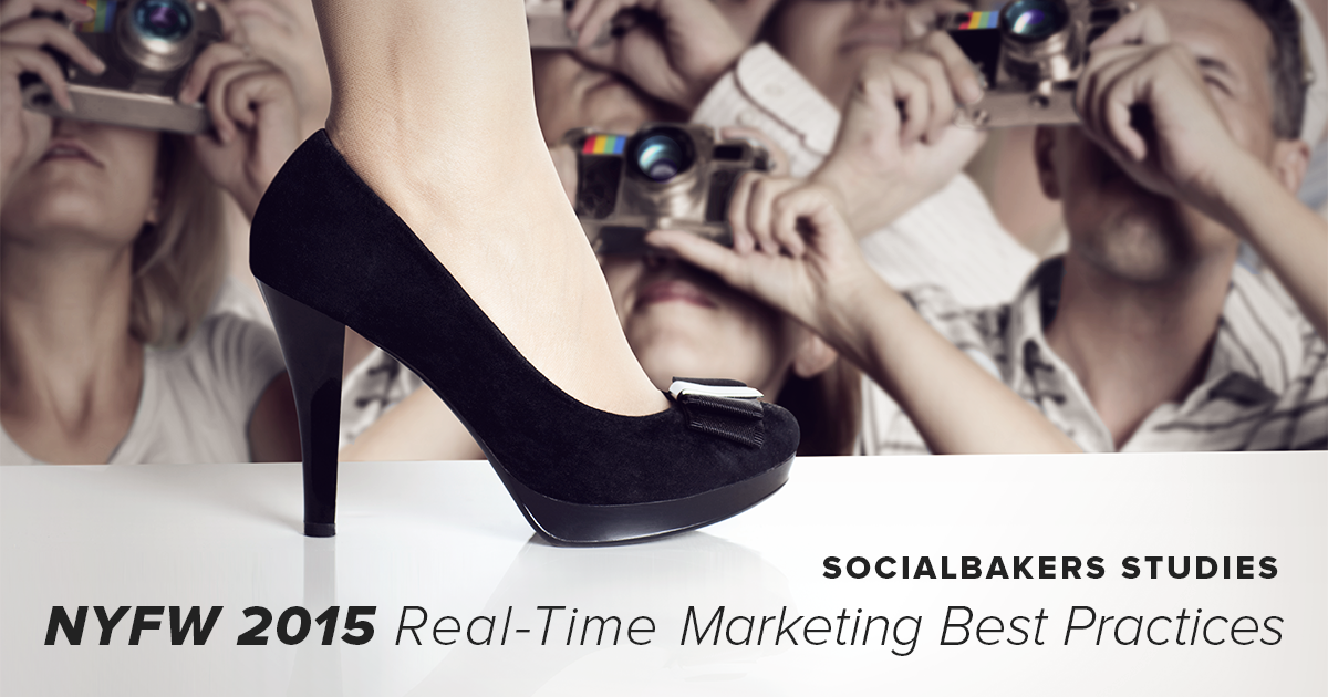 Real-Time Marketing – NYFW 2015