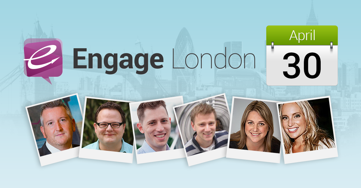 Rules of Engagement: Meet the Social Marketing Masters at Engage London 2014