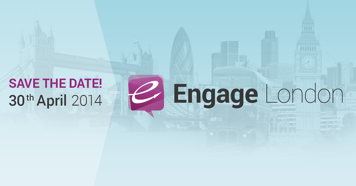 Save The Date: Engage is Back!