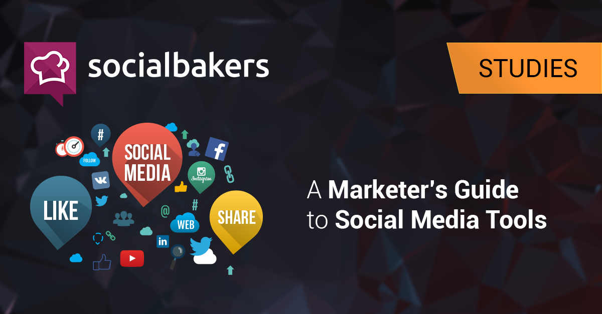 A Marketer's Guide to Social Media Tools