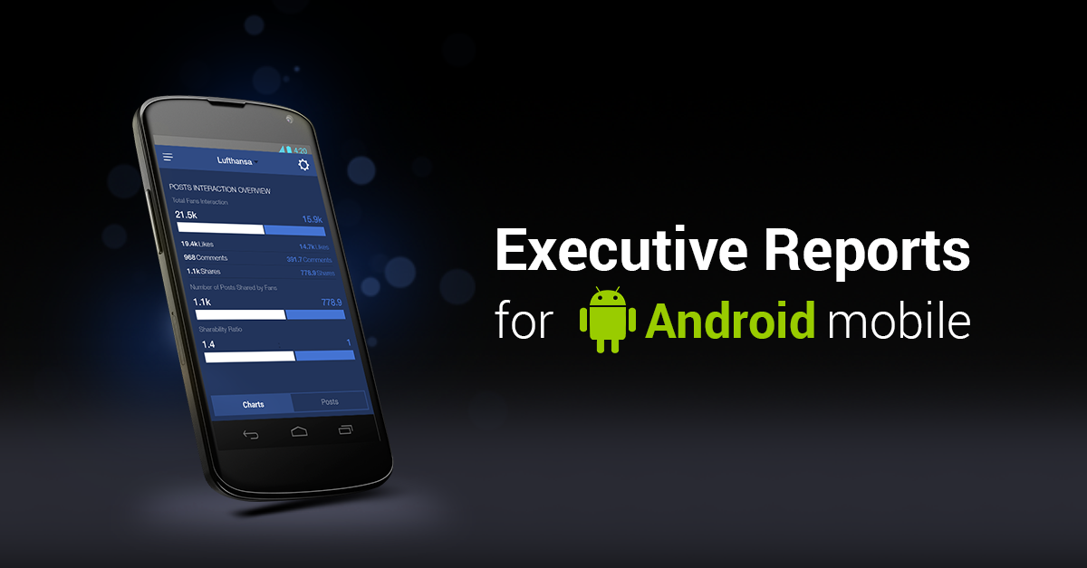 Socialbakers Debuts Executive Reports for Android