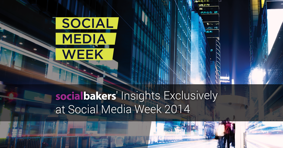 Social Media Week Trends Globally, Passes 110,000 Twitter Mentions