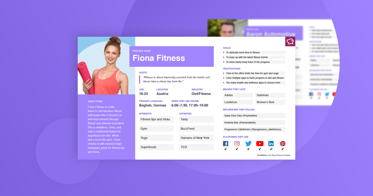 Your Free Buyer Persona Template