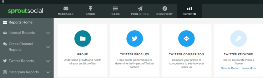 Sprout Social Twitter Analytics