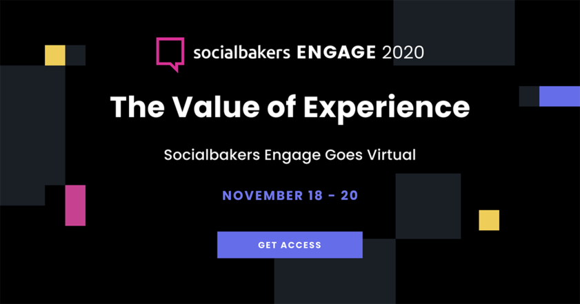 Socialbakers Engage Promo