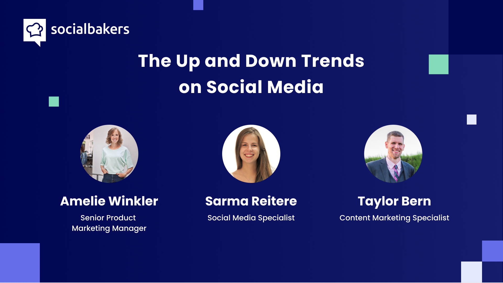 Webinar: The Up and Down Trends on Social Media