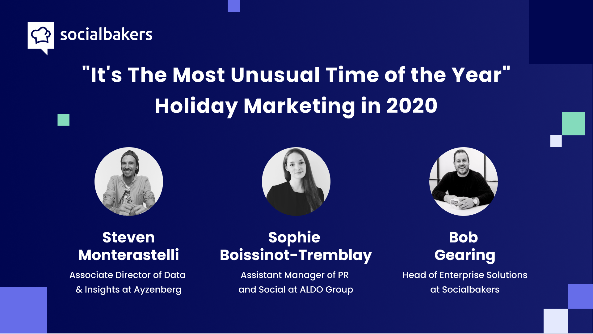 Webinar: It's the Most Unusual Time of the Year – Holiday Marketing in 2020