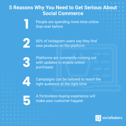Reasons to get serious about social commerce