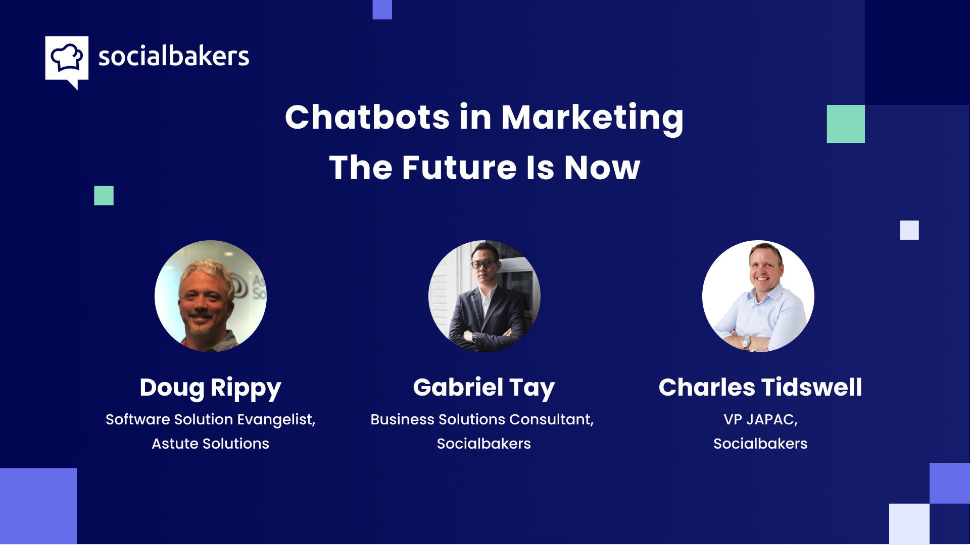 Webinar: Chatbots in Marketing – The Future Is Now