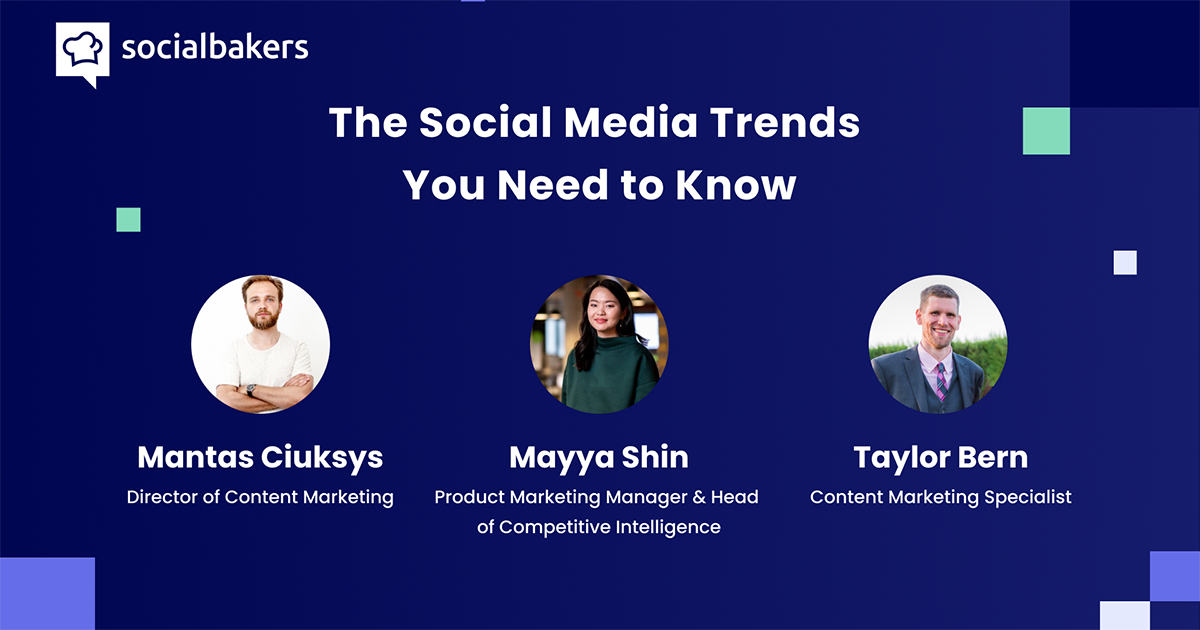 Webinar: The Social Media Trends You Need to Know