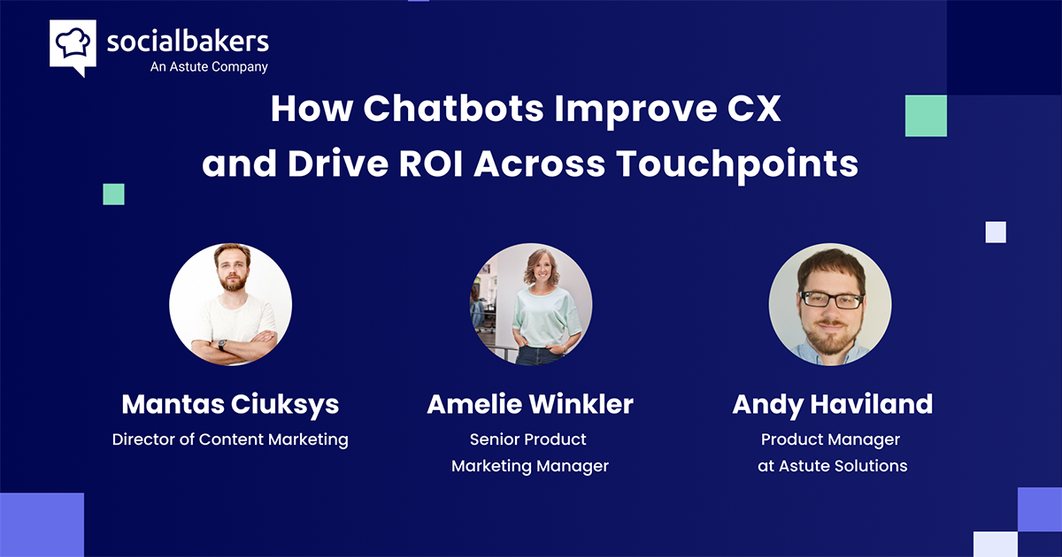 Webinar: Closing the Customer Experience Gap – The Value of Chatbots
