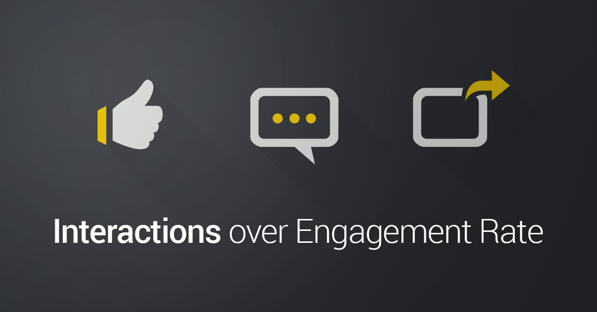 Socialbakers Now Recommends Interactions over Engagement Rate
