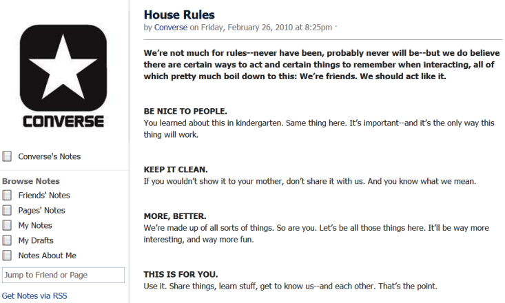 How To Set Up Your Own Facebook House Rules Social Media