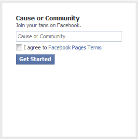 Cause or Community
