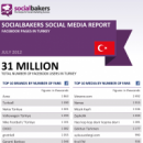 July 2012 Social Media Report: Facebook Pages in Turkey image