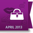 April 2013 Facebook Report: Fashion & Beauty Industry image