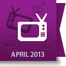 April 2013 Facebook Report: Media Industry image