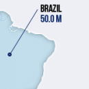 Brazil Crossed 50 Million-User Mark! image