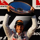 Jenson Button in pole position on Facebook following Australian Grand Prix victory image