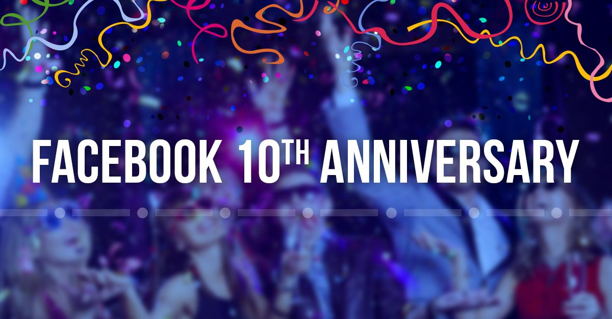 Anniversary pictures for facebook ~ Happy anniversary facebook: the network at 10 social media