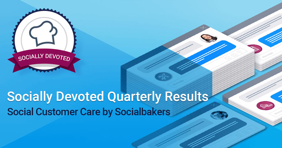 Socially devoted quarterly results